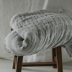 tartan rug in hemp