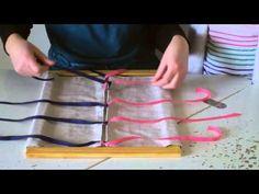 Faire ses lacets : le cadre des rubans | Blog Montessori : L'Atelier Montessori