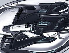 KIA GT interior for a semi-autonomous sport car.
