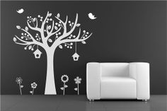 Tree decal Wall Decal Wall Sticker by decoryourwall on Etsy, $55.00