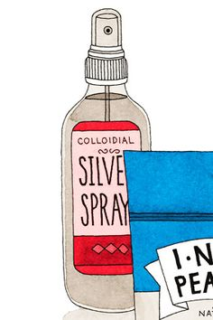 Stay healthy on vacation. Advice from Dr. Oz: Colloidal Silver Spray    Silver is an age-old remedy for infections. As soon as I feel a tickle in my throat, I spray some into my mouth or nostrils. Bacteria are unlikely to develop resistance to it, like they do to antibiotics. (A bottle may cost about $12.) Read more: http://www.oprah.com/health/What-to-Pack-to-Stay-Healthy-on-Vacation#ixzz2FnaWiDOe