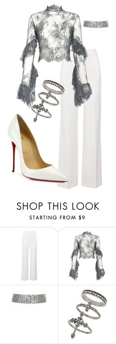 """Untitled #102"" by selin-a-s on Polyvore featuring Roland Mouret, Lana Mueller, Miss Selfridge and Christian Louboutin"