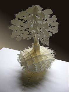 Tree with roots, Pop-Up cards