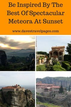 Few places in Greece are more inspiring than Meteora at sunset. The breathtaking scenery is the perfect backdrop for watching the sun fade away. Read more about Meteora at sunset ...