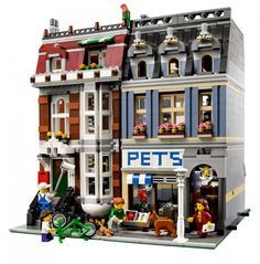 We have the City Hall - next up for xmas is the Pet Shop.  Its such a great family project.   Something Mom, Dad and the kiddies can do together:)