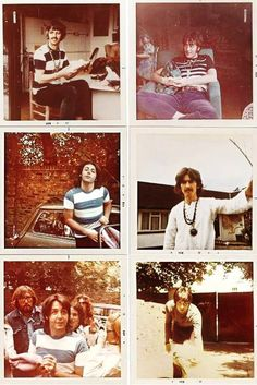 Candid photos of the Beatles, circa late 1960's