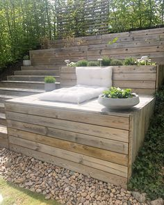 English Garden Design - English Garden Design You are in the right place about garden architecture Here we offer you the mo - Urban Garden Design, English Garden Design, Hillside Landscaping, Modern Landscaping, Landscaping Ideas, Contemporary Garden, Garden Modern, Outdoor Spaces, Outdoor Living