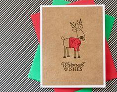 Image result for deer christmas cards
