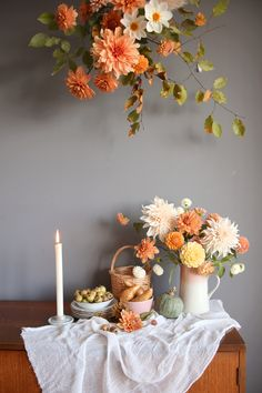 Relaxed and Natural Halloween Display Ideas with Bloom & Burn — N.