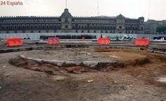 Descubren el monumento frustrado que dio nombre al Zócalo de Ciudad de México