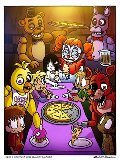 13 Days of ERMA-WEEN: Day 2 FIVE NIGHTS AT FREDDY'S