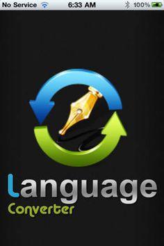 Language Converter Utilities Productivity iPhone App * $4.99...: Language Converter Utilities… #iphone #Utilities #Productivity