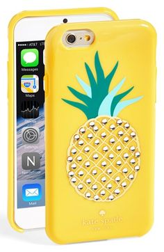 kate spade new york 'pineapple' iPhone 6 case available at #Nordstrom