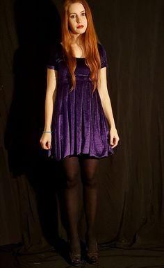 purple velvet skater dress in South Africa Dr Frankenstein, Velvet Skater Dress, Happy New Home, Purple Velvet, Match Making, Box Pleats, Big Black, South Africa, Photoshoot