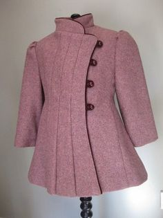 Beautiful 1950s wool coat. I want these for my little girls