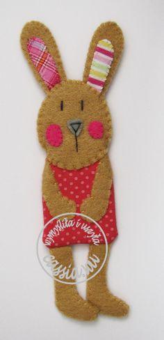 bunny- bookmark