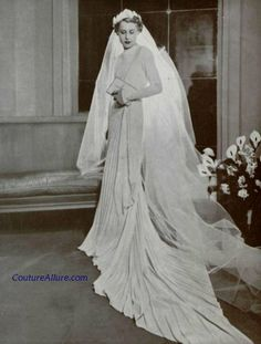 Molineux Wedding Gown, 1937