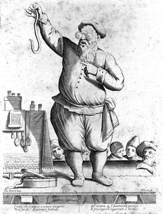 File:A charlatan wearing spectacles and holding a snake, Bologna. Wellcome L0011492.jpg