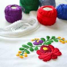 3 free Hungarian embroidery designs