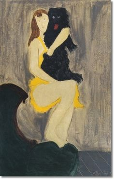 milton avery paintings | Milton Avery - March And Picasso by Milton Avery | Painting