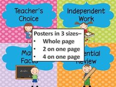T.I.M.E. Guided Math set-up - buy from TPT