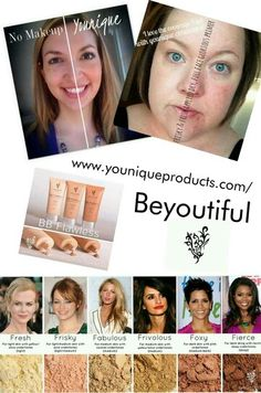 For flawless coverage, use Younique BB Flawless and Concealer mineral powder! www.youniqueproducts.com/Beyoutiful