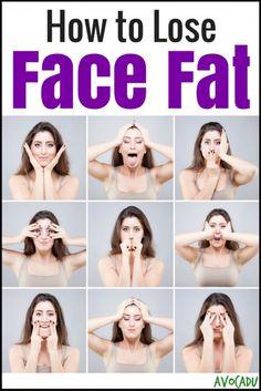 How to Lose Face Fat | Avocadu.com