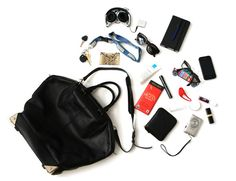 What's in your bag, Adrienne Shoom? Photo by Erin Seaman