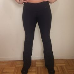 Nike Yoga Pants! All black Nike yoga pants! Size XS. Excellent used condition. Any questions, additional picture requests, or bundle options are always welcomed!  Nike Pants