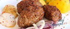 Vynikající nepečený třešňový cheesecake | NejRecept.cz Iftar, Cheesecake, Muffin, Meat, Chicken, Breakfast, Food, Morning Coffee, Cheesecakes
