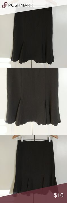 Black Skirt Black skirt with side zipper closure Skirts A-Line or Full