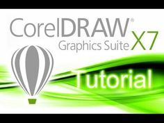CorelDRAW X7 - Tutorial for Beginners [+General Overview] - YouTube
