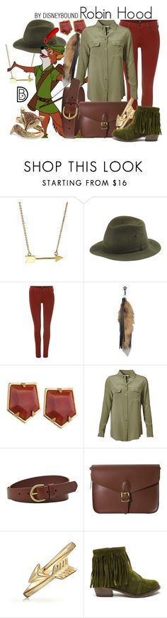 """Robin Hood"" by leslieakay ❤ liked on Polyvore featuring Jami, Barbisio, Lee, Lele Sadoughi, Equipment, FOSSIL, Angela & Roi, Bling Jewelry, Palm Beach Jewelry and women's clothing"