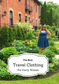 Travel Clothes Women - The Best Travel Clothes for Curvy Women Best Travel Clothes, Packing Clothes, Travel Clothes Women, Clothes For Women, Travel Clothing, Plus Size Travel Clothes, Travel Wear, Travel Dress, Travel Style