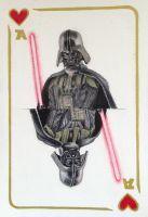 Darth Vader Playing Card by