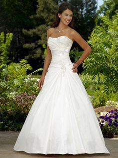 Hot New White Ivory Taffeta Wedding Dress Bridal Gown 8 10 12 14 16 18 in Clothes, Shoes & Accessories, Wedding & Formal Occasion, Wedding Dresses Bridal Wedding Dresses, White Wedding Dresses, Bridesmaid Dresses, Ivory Wedding, Wedding Ceremony, Sparkle Wedding, Wedding Venues, Perfect Wedding Dress, The Dress