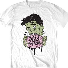 Ugly Americans Randall T-Shirt Ugly Americans, Nerd Stuff, Hot Topic, Being Ugly, Animation, Cartoon, Illustration, Mens Tops, T Shirt