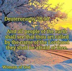 Dueteronomy 28:10 KJV