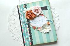 Altered Journal Travel Journal Wedding Book by ArtistsCornerShop