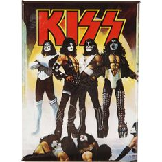 A great poster of the album cover from the klassic KISS LP Love Gun! Check out the rest of our excellent selection of KISS posters! Need Poster Mounts. Kiss Album Covers, Rock Album Covers, Paul Stanley, Gene Simmons, Blues Rock, Kiss Destroyer, Heavy Metal, Beatles, Banda Kiss