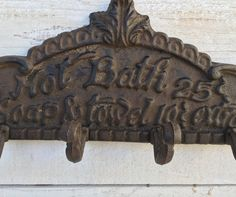 Hey, I found this really awesome Etsy listing at https://www.etsy.com/listing/274719140/hot-bath-iron-sign-bathroom-sign