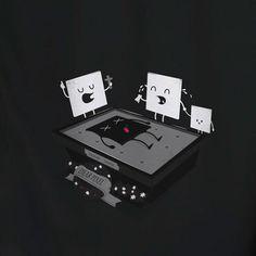 laurent batel tshirt illustrations pixel