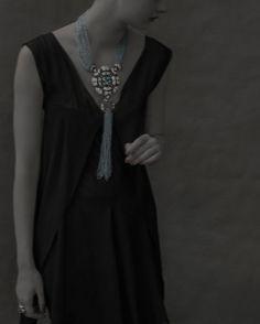 Chanel 'Café Society' jewellery look book by Sarah Moon