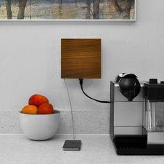 Living Plug // Solid Walnut (Faceplate & INLET Bundle)