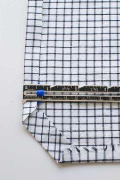 Mitered Napkins | NicolesClasses.com best method (& tutorial) for mitered corners! http://nicolesclasses.com/sewing-101-mitered-napkins