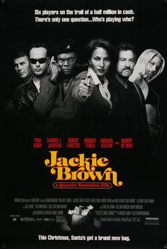 """Jackie Brown (1997) Vintage Advance Movie Poster - 27"""" x 40"""""""