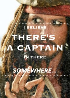 Jack Sparrow. <3
