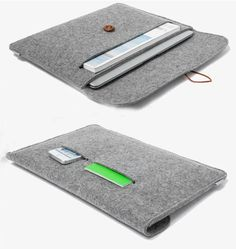 nice new arrival ! 11.6 13.3 15.4 inch Woolen Felt Laptop Sleeve case cover Envelope Bag For Macbook air /pro/retina