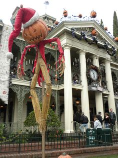 Haunted Mansion- Nightmare before Christmas Style!