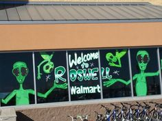 Roswell, New Mexico Travel Memories, New Mexico, Ufo, Aliens, Astronomy, Science Fiction, Building, Places, Sci Fi
